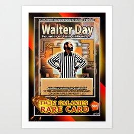 Walter Day card (rare) Art Print