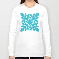 quilt Long Sleeve T-shirts featuring QUILT GIRLS by occi