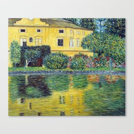 Gustav Klimt Schloss Kammer on the Attersee IV Canvas Print