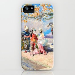Masquerade - Digital Remastered Edition iPhone Case