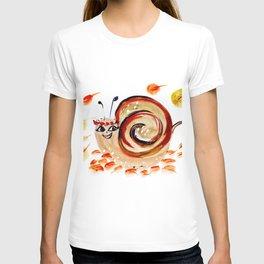 Beautiful Watercolor Autumn Element T-shirt