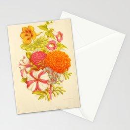 garden 085 Petunia  Linum Perenne  Portulaca  Maurandya9 Stationery Cards