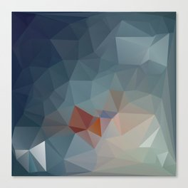 Triangle Geometry Trigonometry Canvas Print