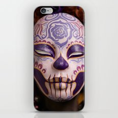 Violet Harvest Muertita Detail iPhone & iPod Skin