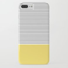 MINIMAL Green Stripes Slim Case iPhone 7 Plus