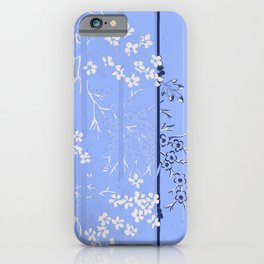 Shade of  Blues By Danae Anastasiou iPhone Case