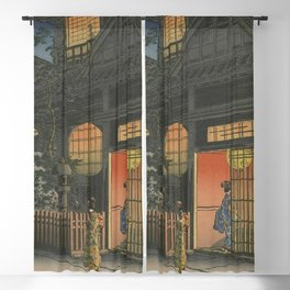 Night at Japan, Ukiyo-e Blackout Curtain