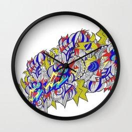 Shout!! Wall Clock