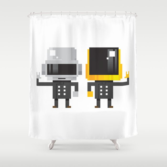 LEGENDARY ELECTRO DUO Shower Curtain