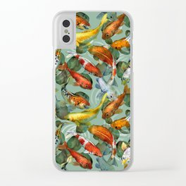 koi carp Clear iPhone Case