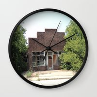history Wall Clocks featuring History by durandurantulsa