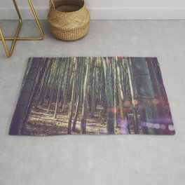 Kyoto Bamboo forest in Japan Rug