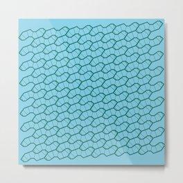 Sphagnum - a pattern Metal Print