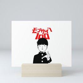 Mob Psycho 100 v1 Mini Art Print