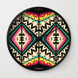 Tribal Wall Clock