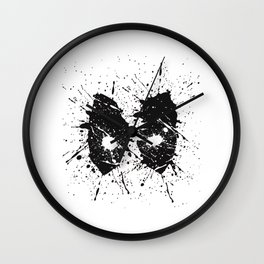 Dead Pool Eyes Splash Wall Clock