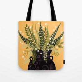 Black Vase I Tote Bag