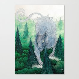 Jungle Cat II Canvas Print