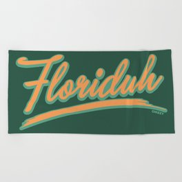 FLORIDUH 2 Beach Towel
