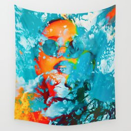 Sana, the colorful woman Wall Tapestry
