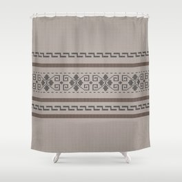 The Big Lebowski Cardigan Knit Shower Curtain