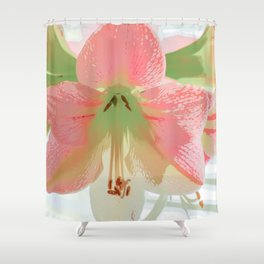 Delectable in Pink Shower Curtain