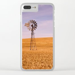 Ripening Cereal Rural Landscape in Australia Clear iPhone Case
