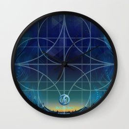 dawn training grid Wall Clock
