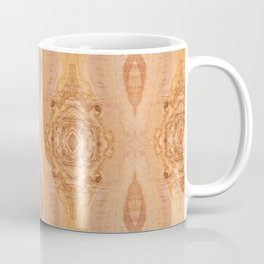 Olive wood surface texture abstract Coffee Mug