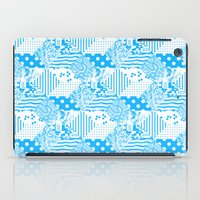clear iPad Cases featuring Clear Blue by Tyler Spangler