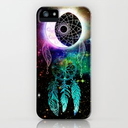 Cosmic Dream Catcher iPhone Case