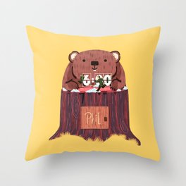 Phil? I thought that was you! Throw Pillow