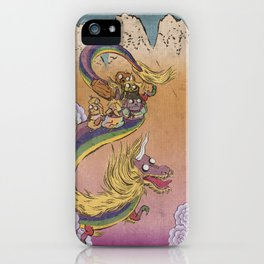 Lady Rainicorn iPhone Case
