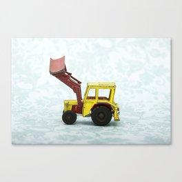 Vintage Corgi Junior - Massey Ferguson Tractor Canvas Print