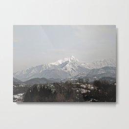 Alpi Apuane Metal Print