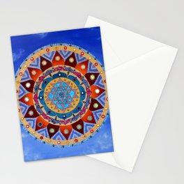 Sri Yantra Stationery Cards