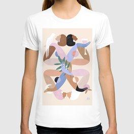 Abstract figure IX T-shirt