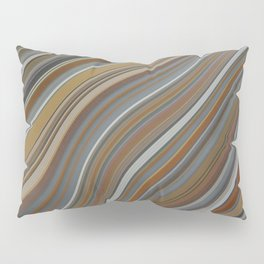 Mild Wavy Lines II Pillow Sham