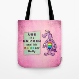 Ube the Unicorn Tote Bag
