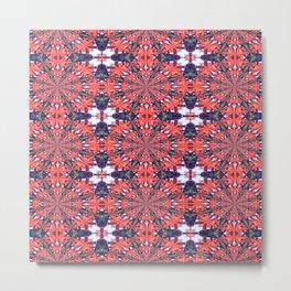 Vibrational Pattern 7 Metal Print