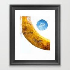 Le Cri de la Banane Framed Art Print