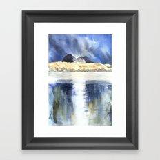 REFLECTION SUILVEN Framed Art Print