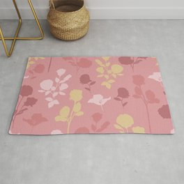 Cut Out Blossom Rug
