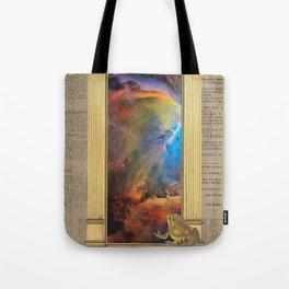 Godspeed Stephen Hawking Tote Bag