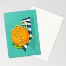 Orange Juice Stationery Cards