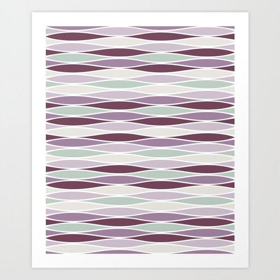 Fluctuations Art Print