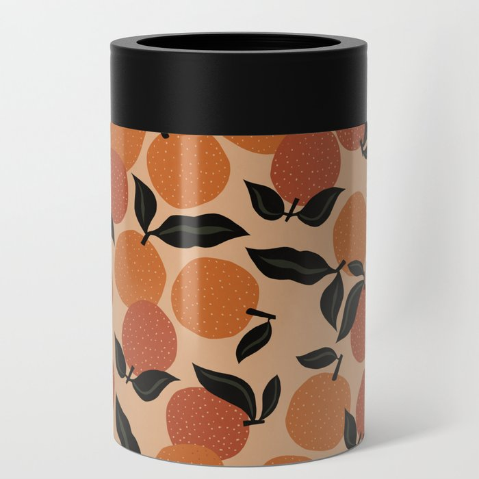 Seamless Citrus Pattern / Oranges Can Cooler
