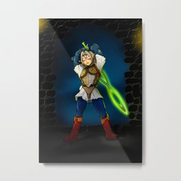 A Link to the Oni Metal Print