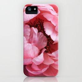 peony bloom iPhone Case