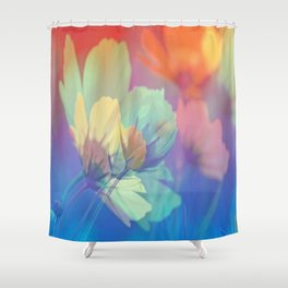 Cosmeabella Shower Curtain